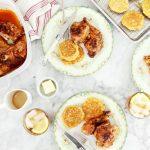 The Bakehouse Brunch: Butter Roasted Chicken + Fresh Corn Johnny Cakes