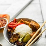 Eggplant & Almond Butter Tofu Bowls | Minimalist Baker Recipes