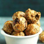 No-Bake Peanut Butter & Jelly Energy Bites | Minimalist Baker Recipes