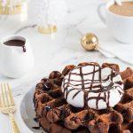 Chocolate Eggnog Waffles – My Baking Addiction